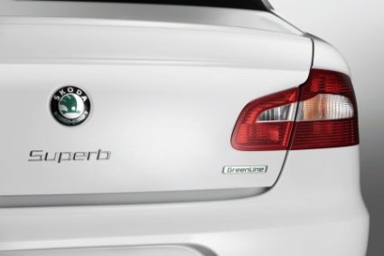 Skoda's Superb Greenline